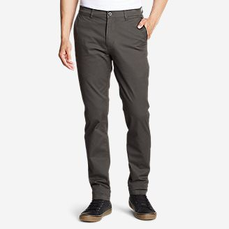 Men's Legend Wash Flex Chino Pants - Slim in Gray