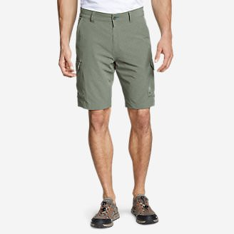 Men's Amphib Cargo Shorts in Green