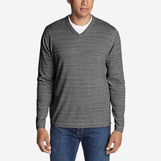 Men's Talus V-Neck Sweater in Gray
