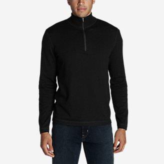 Men's Talus 1/4-Zip Sweater in Black