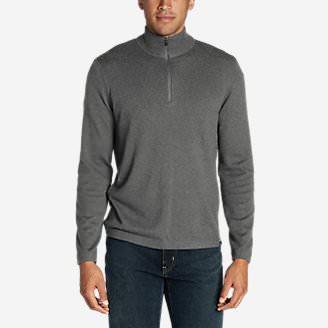 Men's Talus 1/4-Zip Sweater in Gray