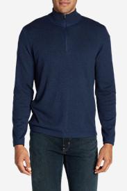 Men's Talus 1/4-Zip Sweater in Blue