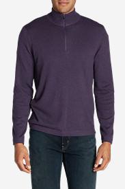 Men's Talus 1/4-Zip Sweater in Purple