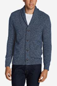 Men's Interlodge Cardigan Sweater in Blue