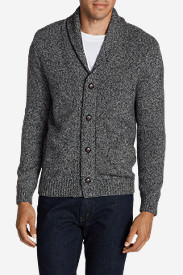 Men's Interlodge Cardigan Sweater in Gray