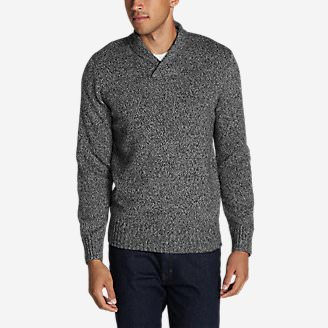 Men's Interlodge Pullover Sweater in Gray