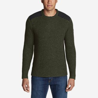 Men's Field Utility Crew Sweater in Green