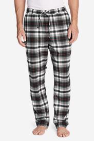 Men's Flannel Sleep Pants in Gray
