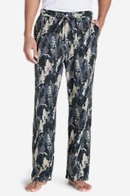 Men's Flannel Sleep Pants in Beige