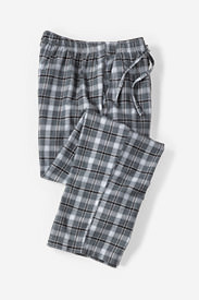 Men's Flannel Sleep Pants in Gray