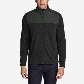 Men's Radiator Pro Sweater Fleece Full-Zip Jacket in Black