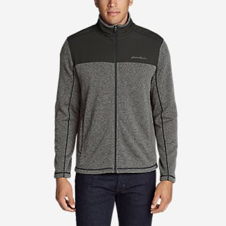 Men's Radiator Pro Sweater Fleece Full-Zip Jacket in Gray