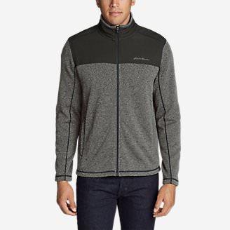 Men's Radiator Pro Sweater Fleece Full-Zip Jacket in Gray