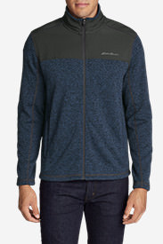 Men's Radiator Pro Sweater Fleece Full-Zip Jacket in Blue