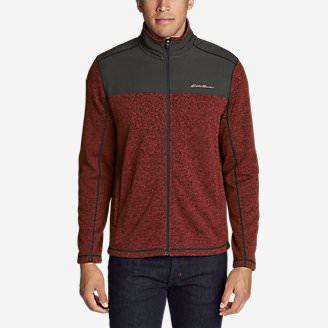 Men's Radiator Pro Sweater Fleece Full-Zip Jacket in Purple