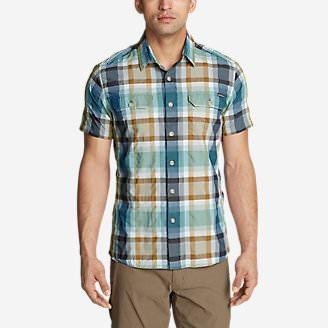 Men's Mountain Short-Sleeve Shirt in Brown