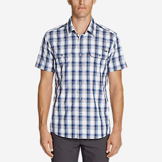 Men's Mountain Short-Sleeve Shirt in Blue
