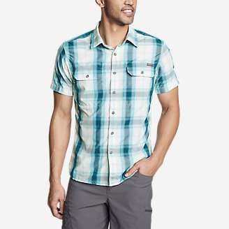 Men's Mountain Short-Sleeve Shirt in Green