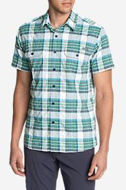 Men's Mountain Short-Sleeve Shirt in Blue