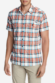 Men's Mountain Short-Sleeve Shirt in Orange