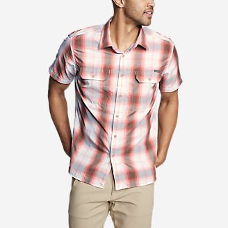 Men's Mountain Short-Sleeve Shirt in Red