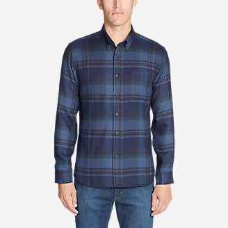 Men's Catalyst Flannel Shirt in Blue