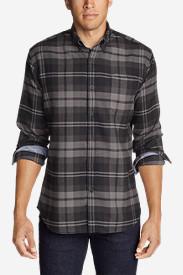Men's Catalyst Flannel Shirt in Black