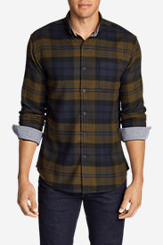 Men's Catalyst Flannel Shirt in Green