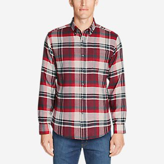 Men's Catalyst Flannel Shirt in Red