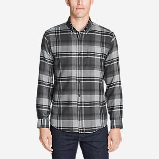 Men's Catalyst Flannel Shirt in Gray