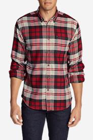 Men's Catalyst Flannel Shirt in Red