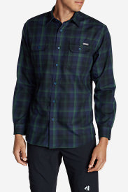 Men's Eddie Bauer Expedition Flannel Shirt in Multi