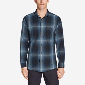 Men's Eddie Bauer Expedition Flannel Shirt in Blue