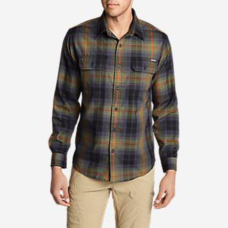 Men's Eddie Bauer Expedition Flannel Shirt in Green
