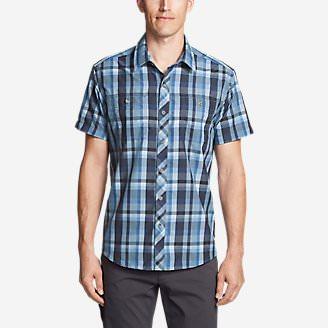 Men's Greenpoint Short-Sleeve Shirt in Blue