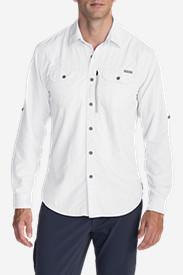 Men's Atlas Exploration Long-Sleeve Shirt in White