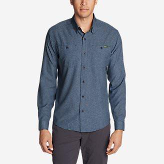 Men's Ventatrex Guide Long-Sleeve Shirt in Blue