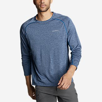 Men's Resolution Long-Sleeve T-Shirt in Blue