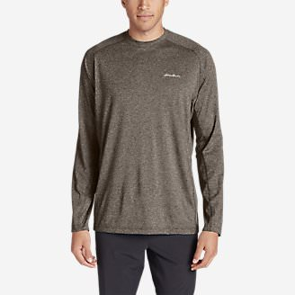 Men's Resolution Long-Sleeve T-Shirt in Brown