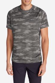 Men's Resolution Mesh T-Shirt - Print in Gray