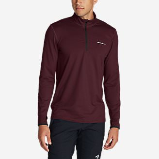 Men's Resolution IR 1/4-Zip in Red