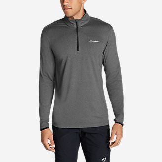 Men's Resolution IR 1/4-Zip in Gray