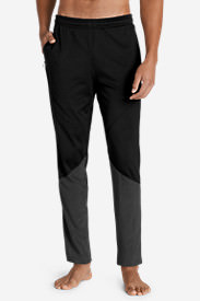 Men's Crossover Hybrid Pants in Black