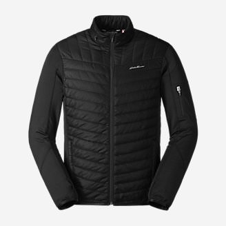 Men's IgniteLite Hybrid Jacket in Black