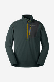 Men's Cloud Layer Pro 1/4-Zip Pullover in Green
