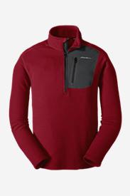 Men's Cloud Layer Pro 1/4-Zip Pullover in Red
