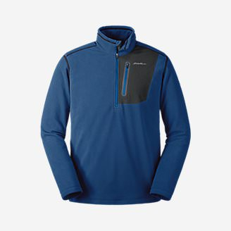Men's Cloud Layer Pro 1/4-Zip Pullover in Blue