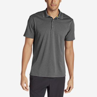 Men's Resolution Short-Sleeve Polo Shirt in Gray