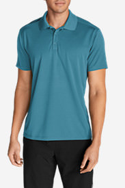 Men's Resolution Short-Sleeve Polo Shirt in Blue