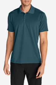 Men's Resolution Short-Sleeve Polo Shirt in Blue